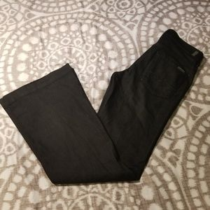 Womens Seven 7 Mankind Size 29 Black Jeans